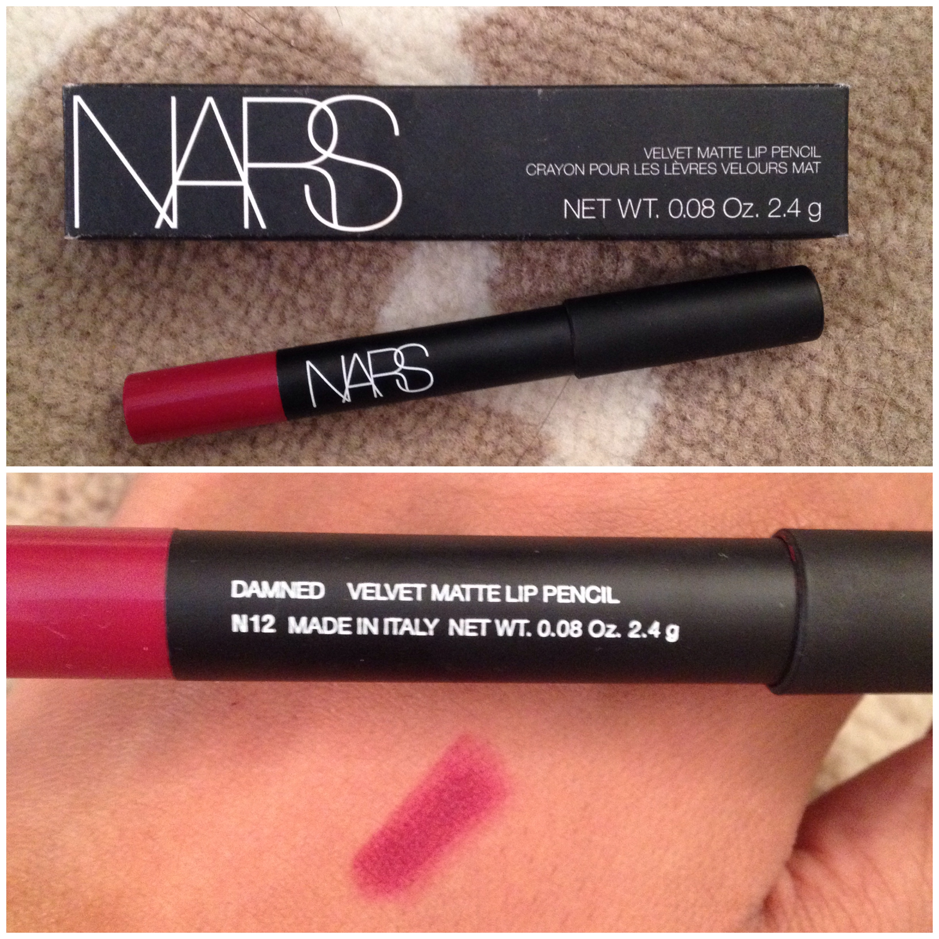 Product Rave  NARS Matte Velvet Lip PencilNars Walkyrie Lip Pencil